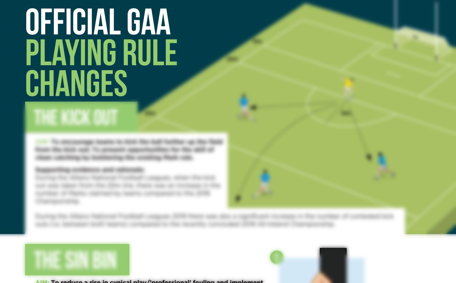 Football Workshop  – New Rules