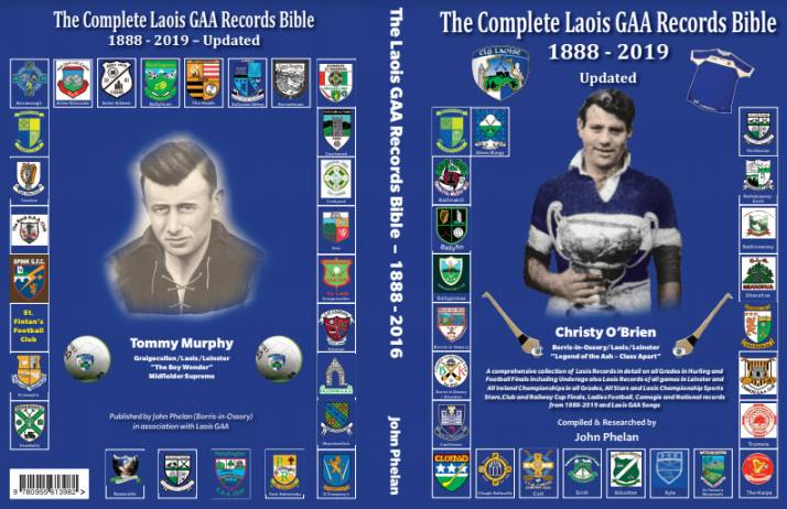 Re launch The Complete GAA Records Bible 1888-2019