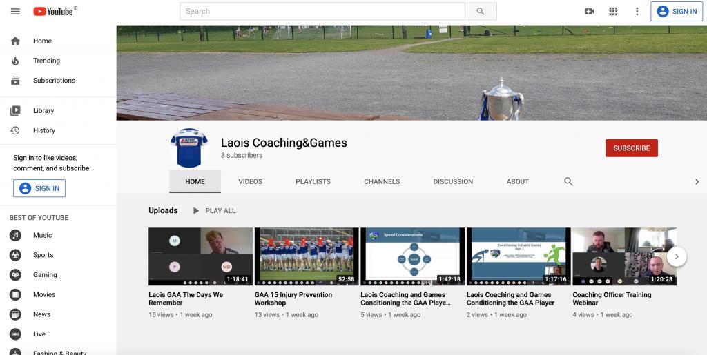 Coach Education Webinars