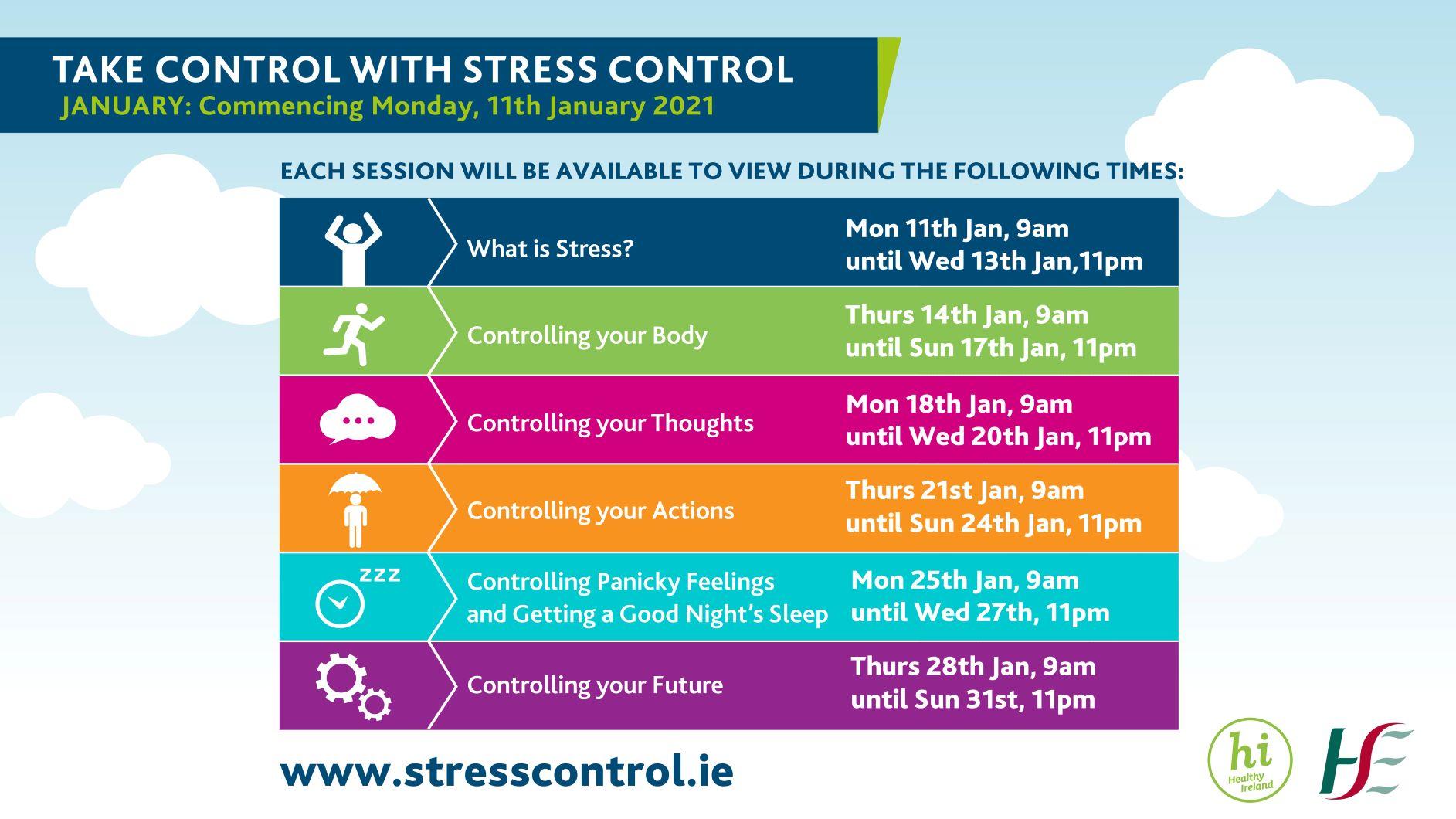 Stress Control Online Programme