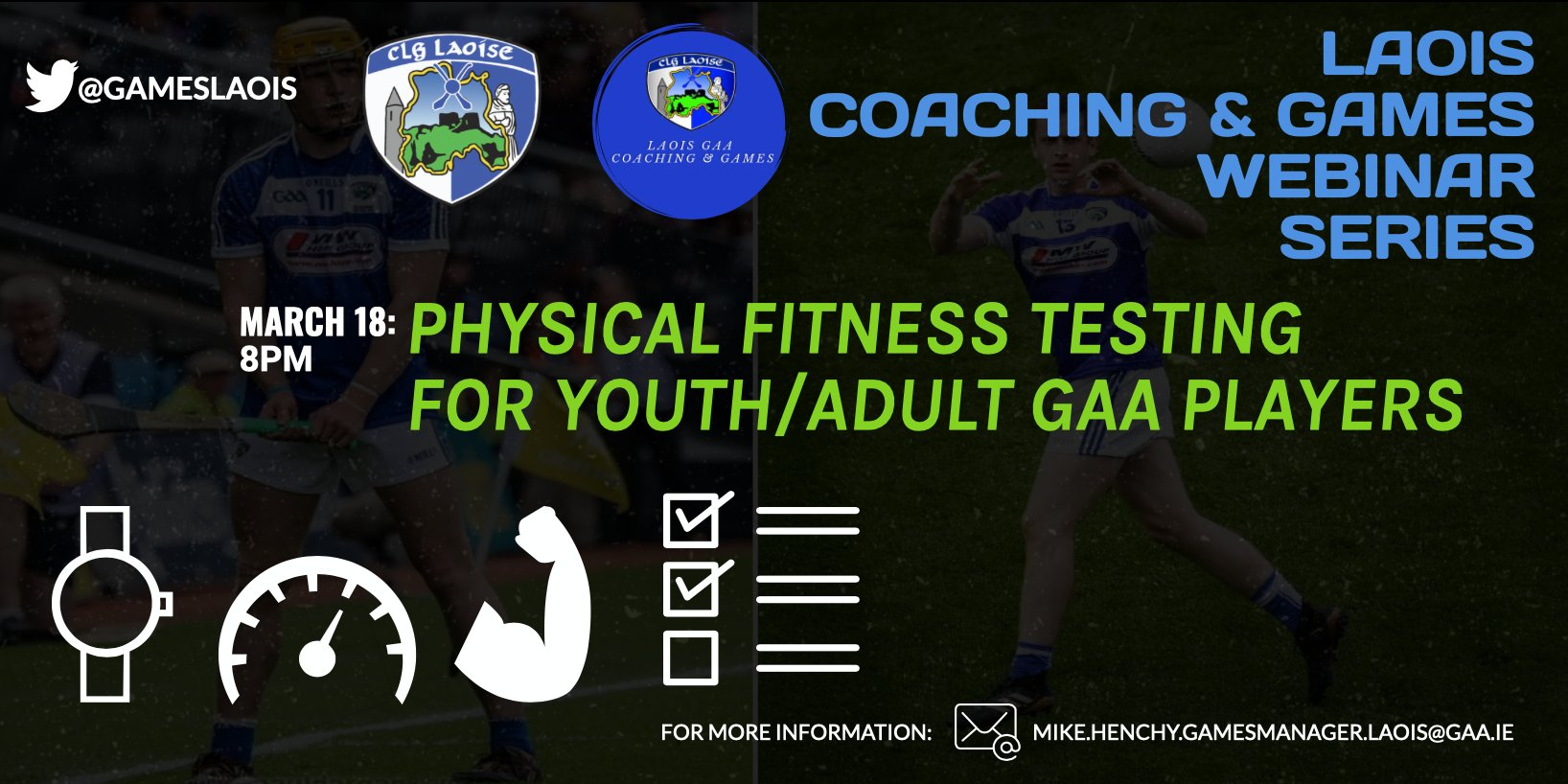 Webinar – Physical Fitness Testing For Youth/Adult Players